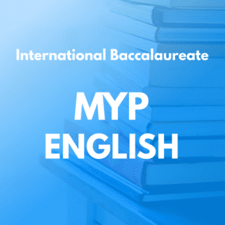 MYP English Language and Literature