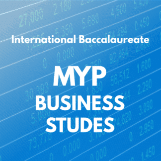 MYP Business studies
